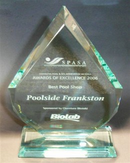 Poolside Frankston Pool And Spa Shop Awards Voted Best Pool Shop In Victoria